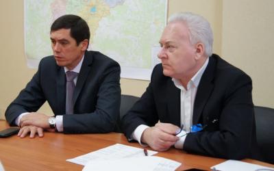Альфир Бакиров и Анатолий Лисицын провели совместный прием предпринимателей