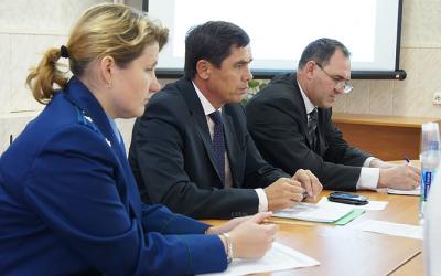 Альфир Бакиров встретился с предпринимателями из Некоузского и Брейтовского районов