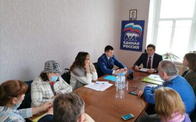 Уполномоченный и заместитель переславского межрайонного прокурора встретились с предпринимателями