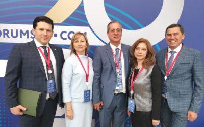 Альфир Бакиров принимает участие в ПМЭФ