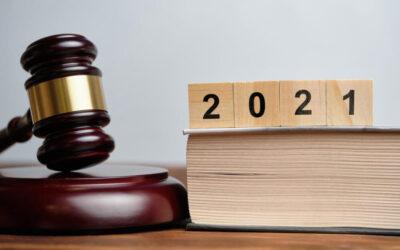 Лето-осень 2021: актуальный обзор изменений законодательства