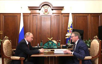 Борис Титов представил Президенту свой ежегодный доклад